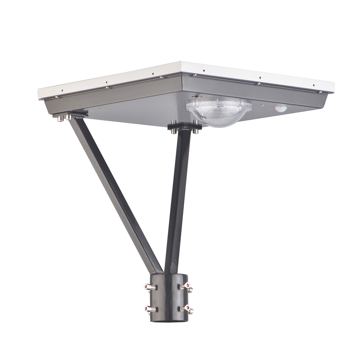 25W Square Solar led top light for gardens-3