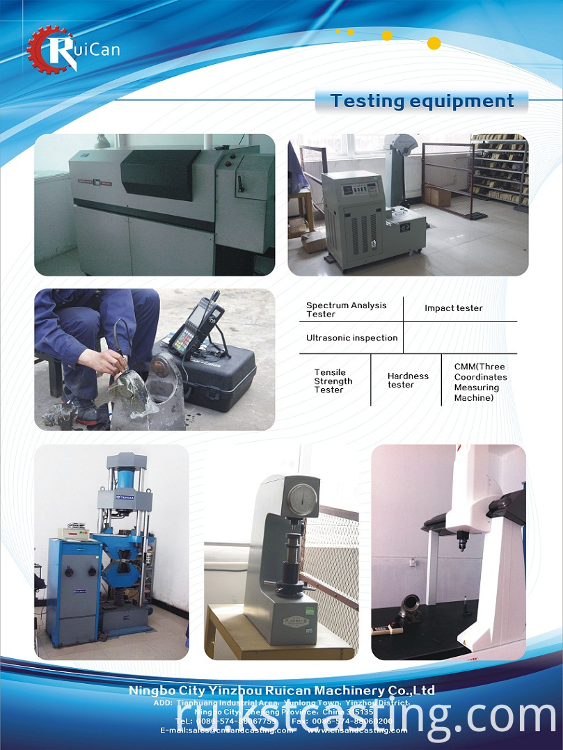 inspection equipments