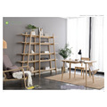Amerika ya Kaskazini White Ash Solid Wood Book Shelf