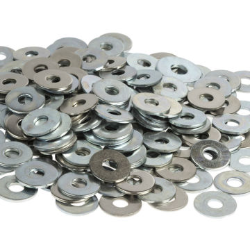 Aluminium Flat Washer Bar Turned M5 Fasteners