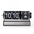 Auto Flip Clock with Hourglass Decoration