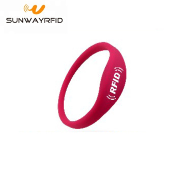 Waterproof rfid Bracelet Wristband with125khz Chip