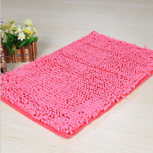 Colorful Pink Rug Bathroom Carpet Shag Shower Mats