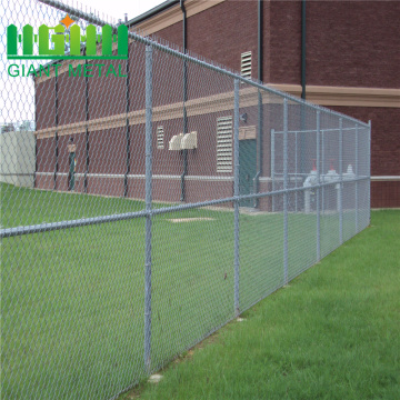 Hot sale galvanized steel chain link fencing prices