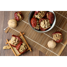 Red Dates with Walnut Healthy Snack