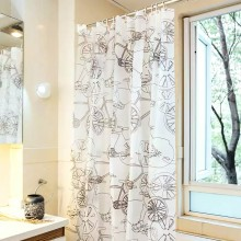 Shower Curtain PEVA Classic Bike