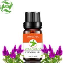 100% pure natural spearmint essential oil for diffuser