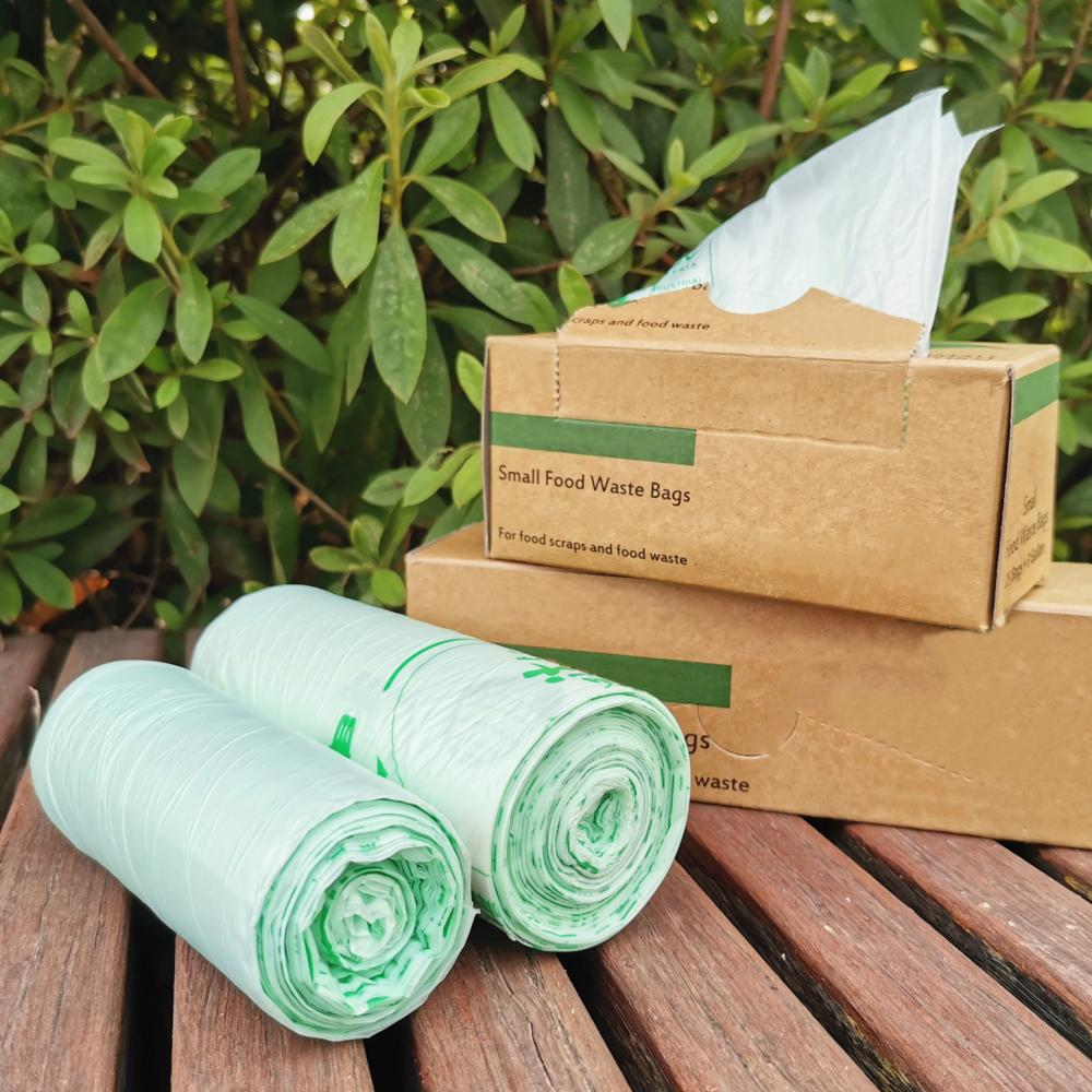 100% Biodegradable Natural Rubbish Plastic Bags