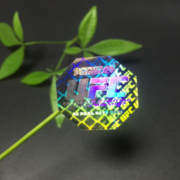 Anti-fake Colorful 3D Hologram Label Seal