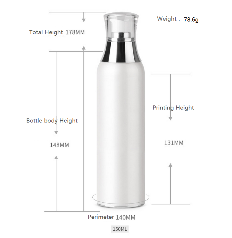 150ml airless bottle