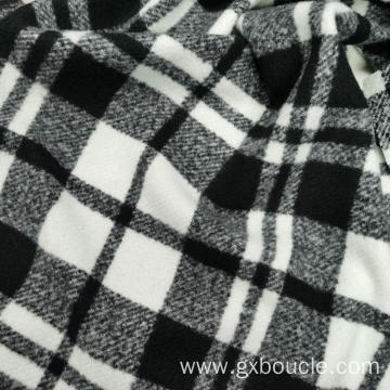 Boucle fashion checked design fabric