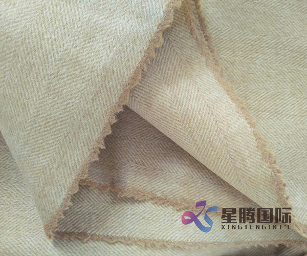 Double Face 100% Wool Fabric For Overcoats