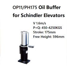 OP11/PH175 Oil Buffer for Schindler Elevators 1.6m/s