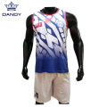 Cheap Sublimated Basketball Training Shirts