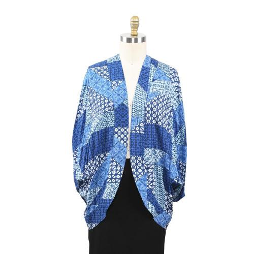 Women's Viscose Soft Patched Printed Cardigan