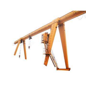 mh model rail travel single girder gantry crane