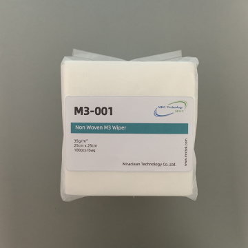 Extremely Absorbent Non-woven M1 & M3 Wipes