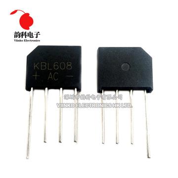 5PCS KBL608 KBL-608 6A 800V Diode Bridge Rectifier