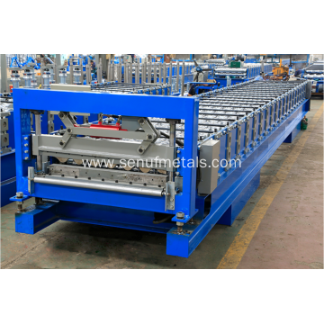 Aluminum corrugated forming machine roof sheet machine IBR