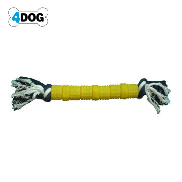 Squeaky Dog Toys with Rope