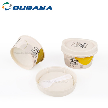 hot selling 4oz IML Printing plastic sauce pudding cup
