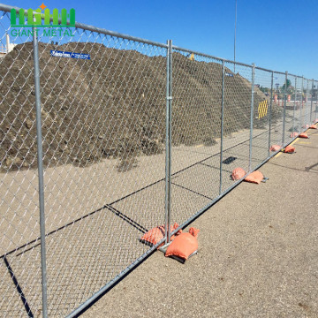 Construction Site Galvanized Quick Canada Temporary Fence