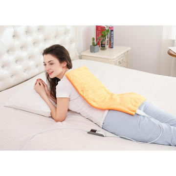 UL Approved Moist/Dry Heating Pad with LCD Display 8 Heat Settings 6 Timer Settings for Neck Shoulder Back