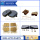 JCB Hand Brake Pad Kit 15/920103 15-913501