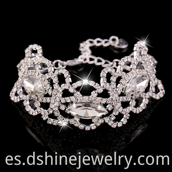 Crystal Diamond Bracelet