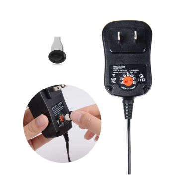 12W Universal Power Adapter with Multi Tips