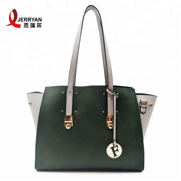 Ladies PU Leather Green Shoulder Bags Online