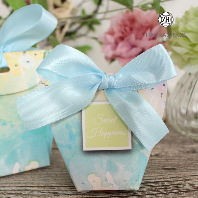 Mini wedding favor gift box wedding candy boxes