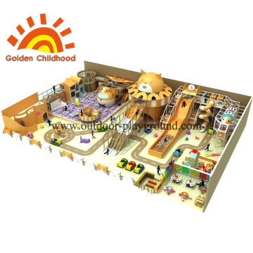 Cat Style Indoor Playground Equipment For Kids