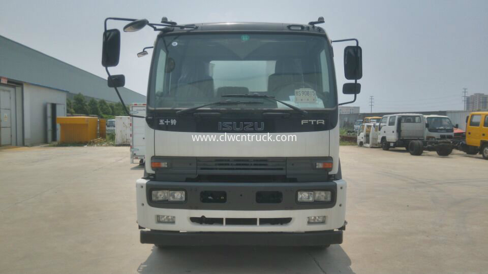 waste water collection truck