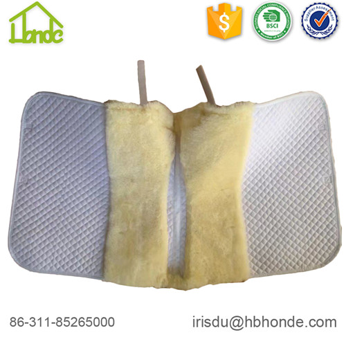 lambskin saddle pad