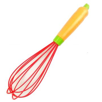 Carrot silicone egg beater