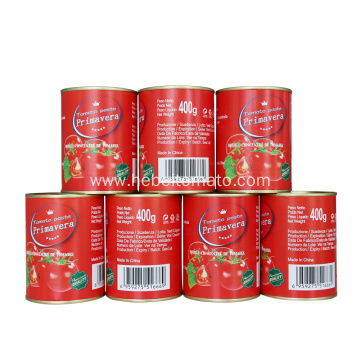 400g tomato paste with Europe standard brands