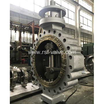 Cast Steel Triple Offset Lug Type Butterfly Valve