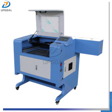 Small 60W Acrylic Leather MDF Co2 Laser Cutting Machine 500*400mm