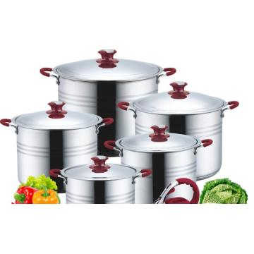 Large stainless steel pan