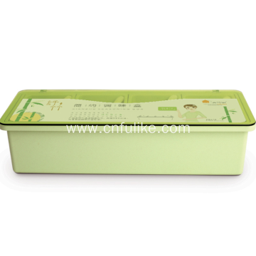 Plastic Condiment Transparent Storage Container