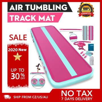 Furgle 2020 Upgrade Airtrack 7 Days Delivery Gym Tumble Airtrack Inflatable Air Track Gymnastics Air Floor Mattress Yoga Mat