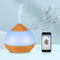 Music 7 Color Changing Wood Grain Air Humidifiers