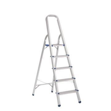 Lightweight aluminum step ladder