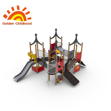 Mutifuntion outdoor play structure  for kids