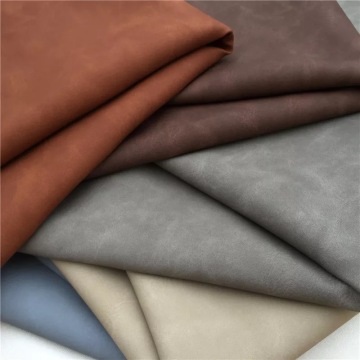 Synthetic Suede Microfiber Leather Products for Shoes Lining