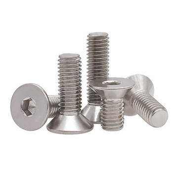 M6M8M10 Stainless steel socket head screw DIN7991