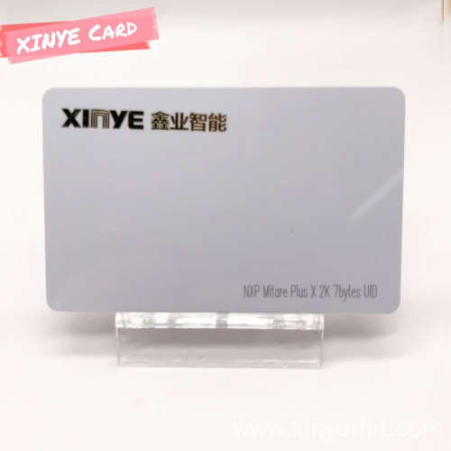 Custom PVC Contactless Smart Card RFID White Card
