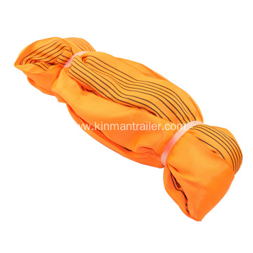 Orange Round Sling For Lifting