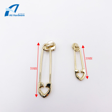 Different Size Fashion Style Bag Zipper Puller